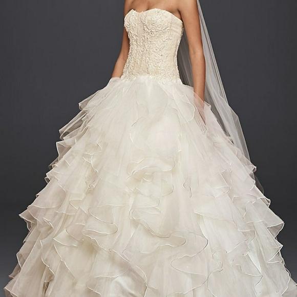 31 off oleg cassini dresses skirts oleg cassini wedding dress oleg cassini wedding dress davids bridal junglespirit Images